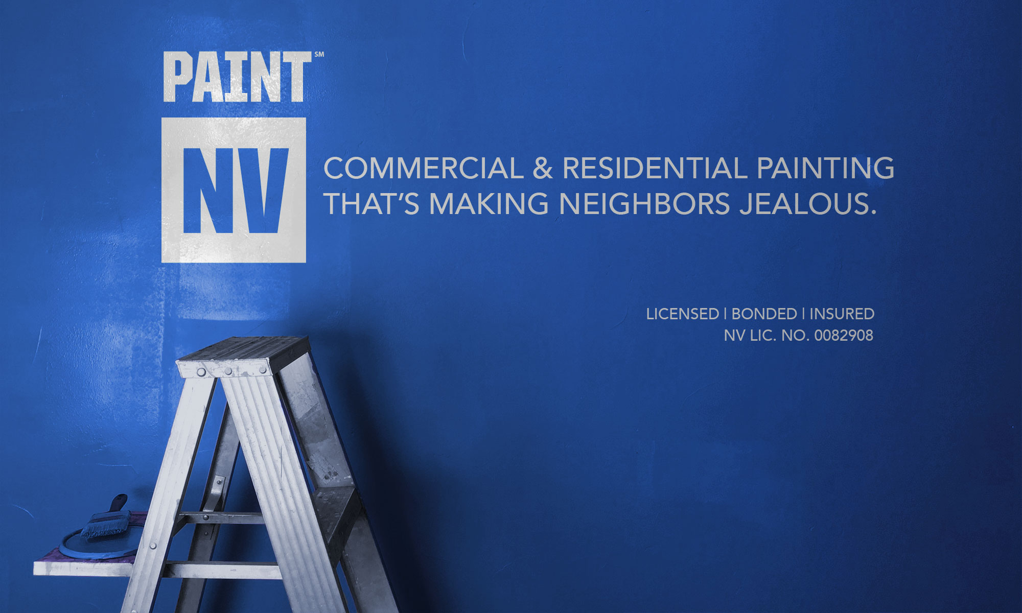 paint nv commercial and residential painting blue