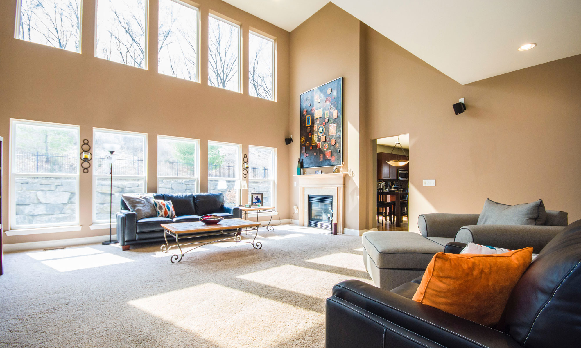paint nv interior residential painting tan